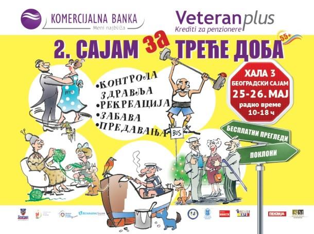 2. Sajam za treće doba u Beogradu – 25. i 26. maj 2015. godine