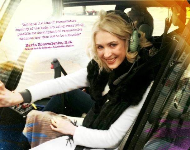 Marija Konovalenko o četiri faze lečenja starenja