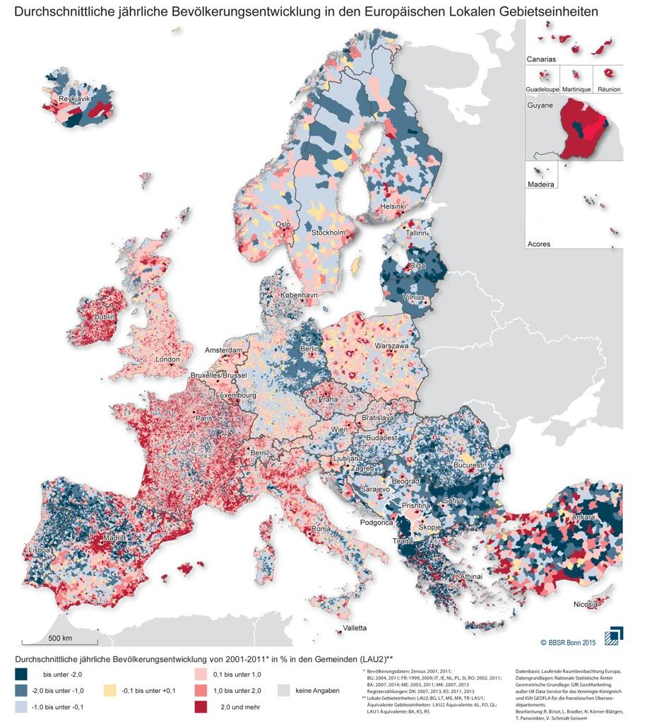 Srbija 2050: Jedva pet miliona stanovnika