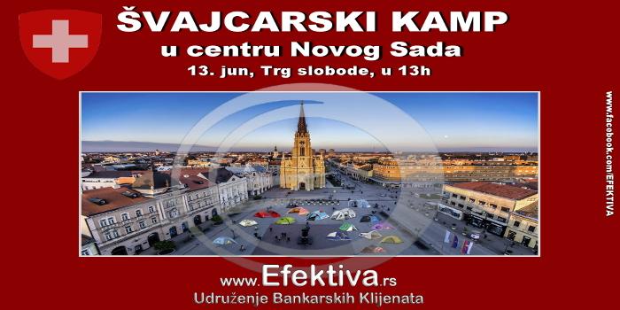 Novi Sad pred Egzit festival dobija i Švajcarski kamp!
