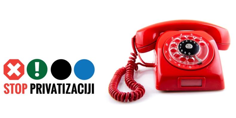 Održana tribina – Stop privatizaciji Telekoma