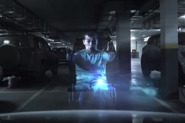 Rusija: Hologrami čuvaju parking mesta za osobe sa invaliditetom (video)