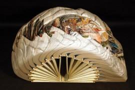 Nova umetnost od zastarelih knjiga (FOTO galerija)