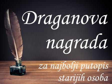 "IV konkurs za najbolji putopis starijih osoba ""Draganova nagrada"" 2018"