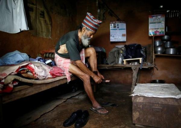 Nepal deka siromaštvo čatrlja oblačenje
