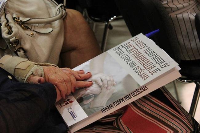 """Priručnik za opštu javnost """"Za nultu toleranciju diskriminacije prema starijim osobama"""""""
