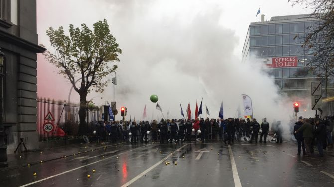 7.000 vojnika protestuje zbog reforme penzija u Briselu
