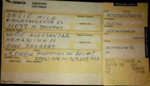Mile Delić – Penzioner koji je vratio Vučiću 5.000 dinara