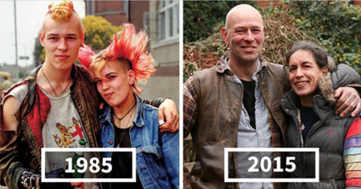 """Decenije između dve fotografije """"istih"""" ljudi (FOTO galerija)"""