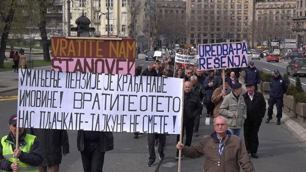 Sindikat vojnih penzionera: Pet godina iživljavanja nad penzionerima