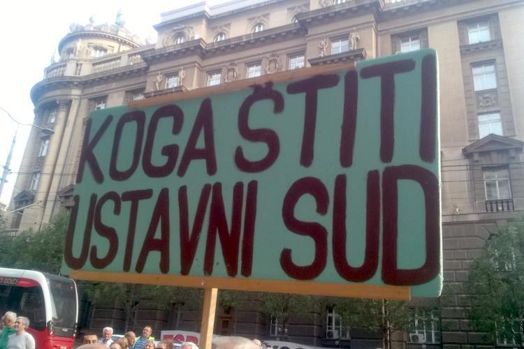 Sindikat penzionera Srbije: Alo, sudije!