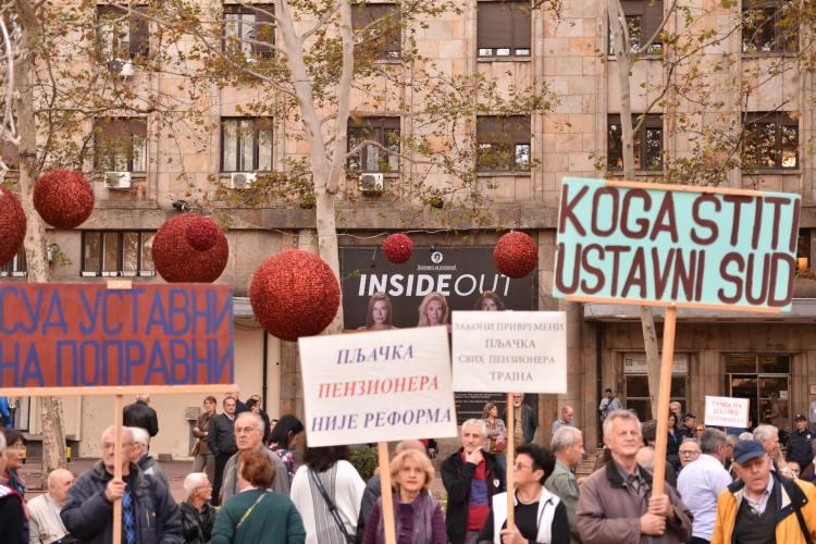 Govor Mihajla Radovića, predsednika USPS-a, na protestu u Beogradu, 30. oktobra 2018.