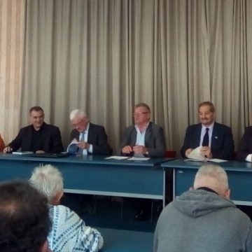 Sa Tribine opljačkanih penzionera i budućih penzionera u Kragujevcu, 6. 11. 2018.