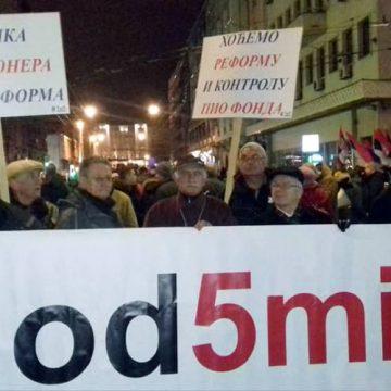 """Hoće li penzioneri na protest """"Svi kao jedan"""" u Beogradu?"""