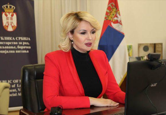 Kisić Tepavčević predstavila predlog zakona o socijalnoj karti